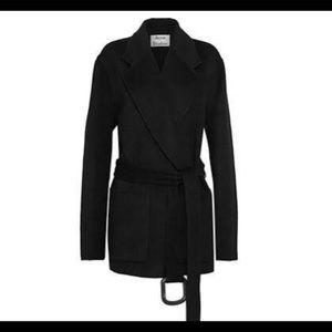 Acne studio over size black coat